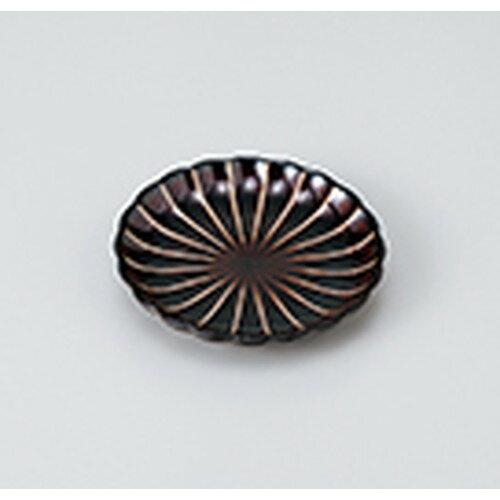10個セット ☆ 小皿 ☆ うるし釉菊型3.0皿 [ 9.8 x 1.8cm ] 【 料亭 旅館 和食器 飲食店 業務用 】