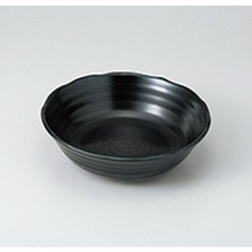 10個セット ☆ 多用鉢 ☆ 黒銀彩マット50浅鉢  [ 16.5 x 4cm ]