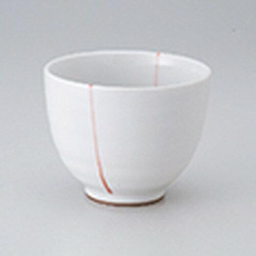 3個セット☆ 茶漬碗 ☆ シンプルライン朱おしゃれ小碗 [ 10.5 x 8.2cm ]
