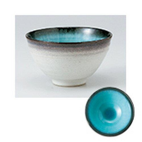 5個セット☆ 飯椀 ☆ 均窯ブルー茶漬碗 [ 12.5 x 7.7cm ]