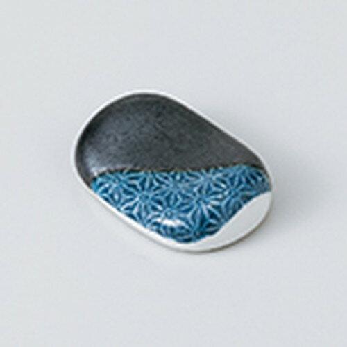 10個セット ☆ 箸置 ☆ 刺子(青) 箸置 [ 4.5 x 3cm ]