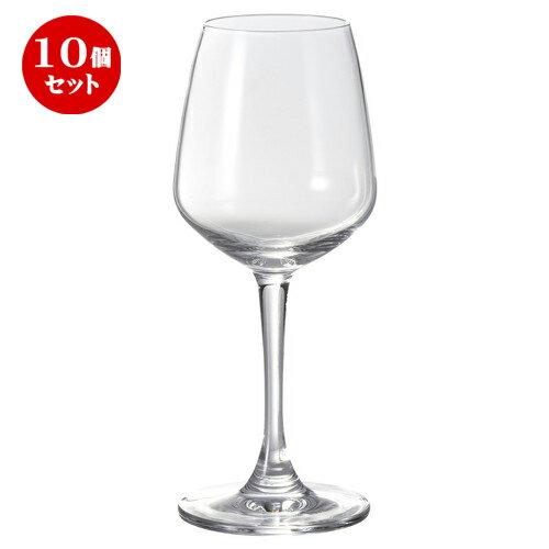 10個セット ☆ ワイングラス ☆ レキシントン ワイン 240 [ D 5.1 x w 7.3 x H 18.3cm ]