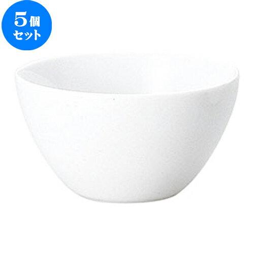 5個セット☆ 中鉢 ☆ グラッセ 12cm マルチボウル [  D 12 x H 6.9cm ]