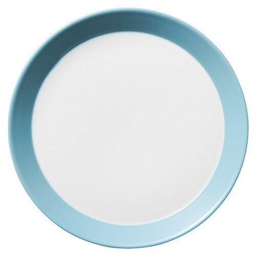 5個セット☆ 中皿 ☆ パシオン シーサイドブルー 19.5cm プレート [  D 19.6 x H 2.4cm ]