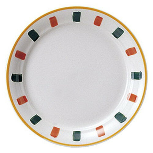 3個セット☆ 中皿 ☆ コスタ 23cm ミート皿 [  D 23 x H 3cm ] 【 飲食店 レストラン ホテル カフェ 洋食器 業務用 イタリアン ライン かわいい 】