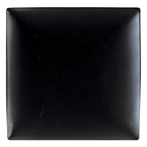3個セット☆ 角皿 ☆ パティオ マットブラック 25cm 角皿 [  D 25.1 x H 3.2cm ]