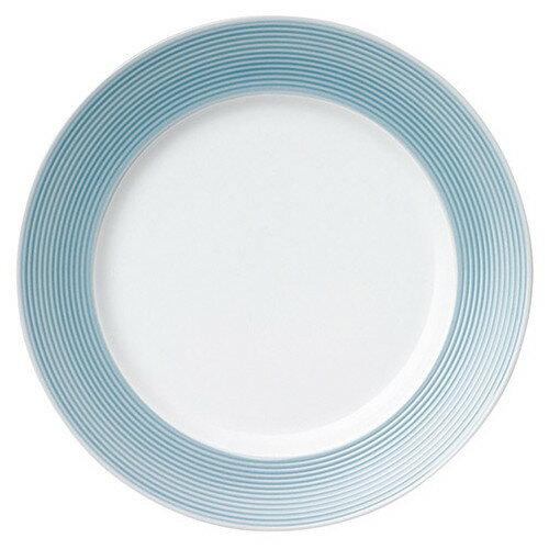 5個セット☆ 大皿 ☆ ペール ブルー 28cm プレート [  D 28 x H 2.7cm ]