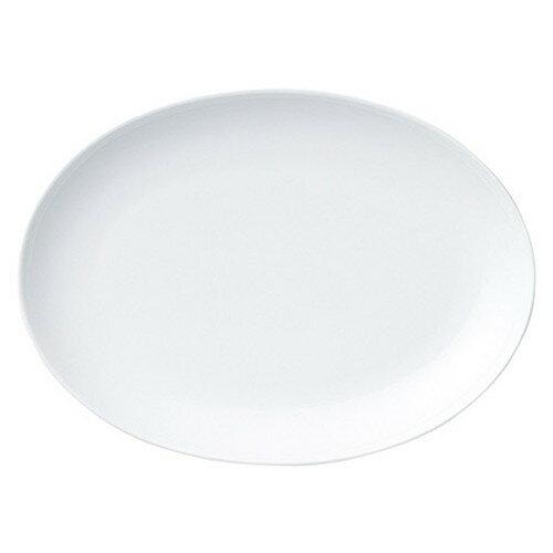 10個セット ☆ 楕円皿 ☆ ウェイリー 23.5cm プラター [ L 23.7 x S 17.3 x H 2.5cm ]