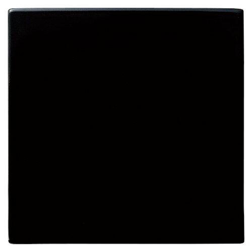 10個セット フラット 24cmスクエア(プレート(Black)) [D23.7 x H0.6cm]   中皿 サラダ パスタ 取り皿 プレート 人気 おすすめ 食器 洋食器 業務用 飲食店 カフェ うつわ 器 おしゃれ かわいい ギフト プレゼント 引き出物 誕生日 贈り物 贈答品