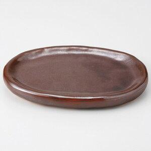 5個セット☆小鍋☆赤茶陶石板[18x11.4x2.3cm510g]【料亭旅館和食器飲食店業務用】