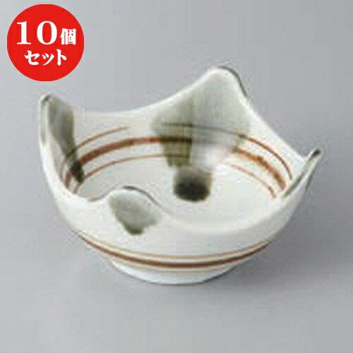 10個セット ☆ 高台小付 ☆和モダン3.0四方鉢 [ 8.5 x 8.5 x 4.7cm ]