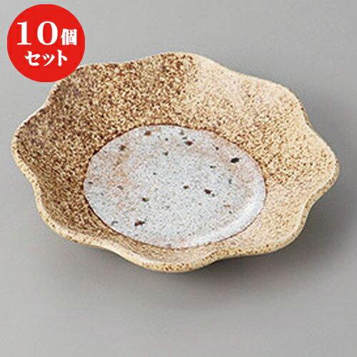 10個セット ☆ 和皿 ☆伊賀帯フルーツ皿 [ 15 x 15 x 3.2cm ]