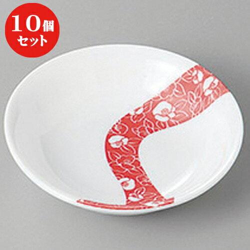 10個セット ☆ 小皿 ☆椿流し11cm薬味皿 [ 11 x 2.6cm ]