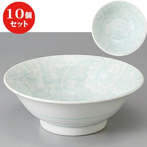 10個セット ☆ 中華丼 ☆みろく高台8.0丼 [ 24.3 x 8.8cm ]