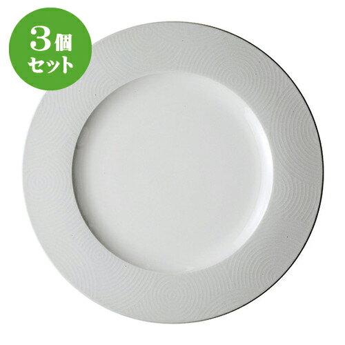 3個セット☆ ネオスタイル ☆波紋プレート29cm [ 29 x 2cm ]