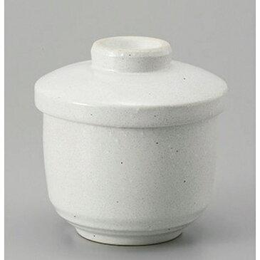 むし碗 粉引むし碗 [8.4 x 9.4cm 250cc]   茶碗蒸し ちゃわんむし 蒸し器 寿司屋 碗 人気 おすすめ 食器 業務用 飲食店 おしゃれ かわいい ギフト プレゼント 引き出物 誕生日 贈り物 贈答品