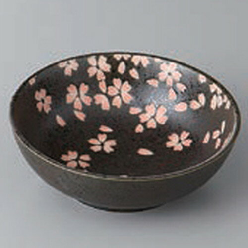 ☆ 小鉢 ☆染付桜12cmボール [ 12 x 4.3cm ]