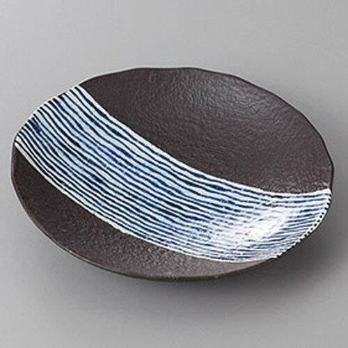 10個セット ☆ 組皿 ☆京清水強化黒釉丸5.0多用皿 [ 16 x 3cm ]