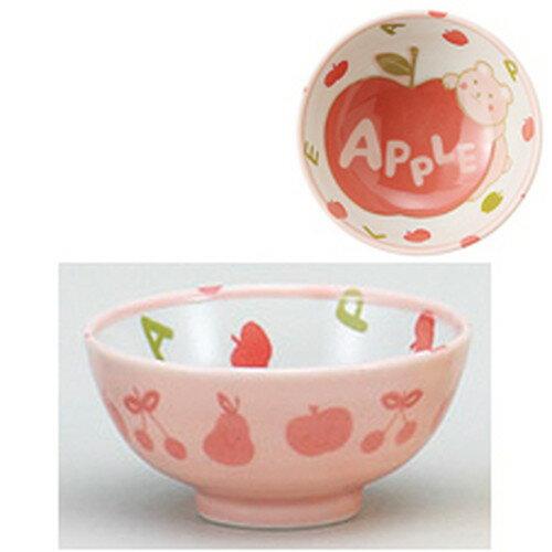 3個セット☆ 茶碗 ☆アップルとクマ孫平 [ 10.5 x 5cm ]
