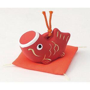 鯉のぼり福鈴(小)赤[高さ4.5cm]こどもの日端午の節句兜プレゼント