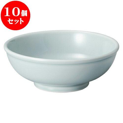 10個セット 中華オープン 青磁 7.0玉丼 [ 21.7 x 8cm ] 料亭 旅館 和食器 飲食店 業務用
