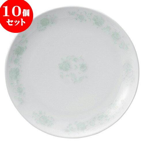 10個セット 中華オープン 夢彩華 10吋丸皿 [ 25.7 x 2.5cm ] 料亭 旅館 和食器 飲食店 業務用:せともの本舗