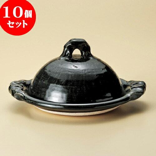 10個セット 陶板 織部8.0陶板(信楽焼) [ 30.5 x 26 x 16cm ] 料亭 旅館 和食器 飲食店 業務用:せともの本舗