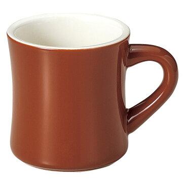 マグカップ ダイナーマグ(ブラウン) [ 8.8 x 9.3cm 345cc ]