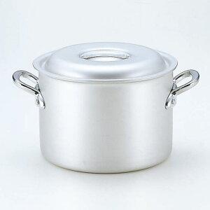 3個セット厨房用品マイスターアルミ半寸胴鍋(アルマイト仕上げ)[18cm18x13cm3.3L]料亭旅館和食器飲食店業務用