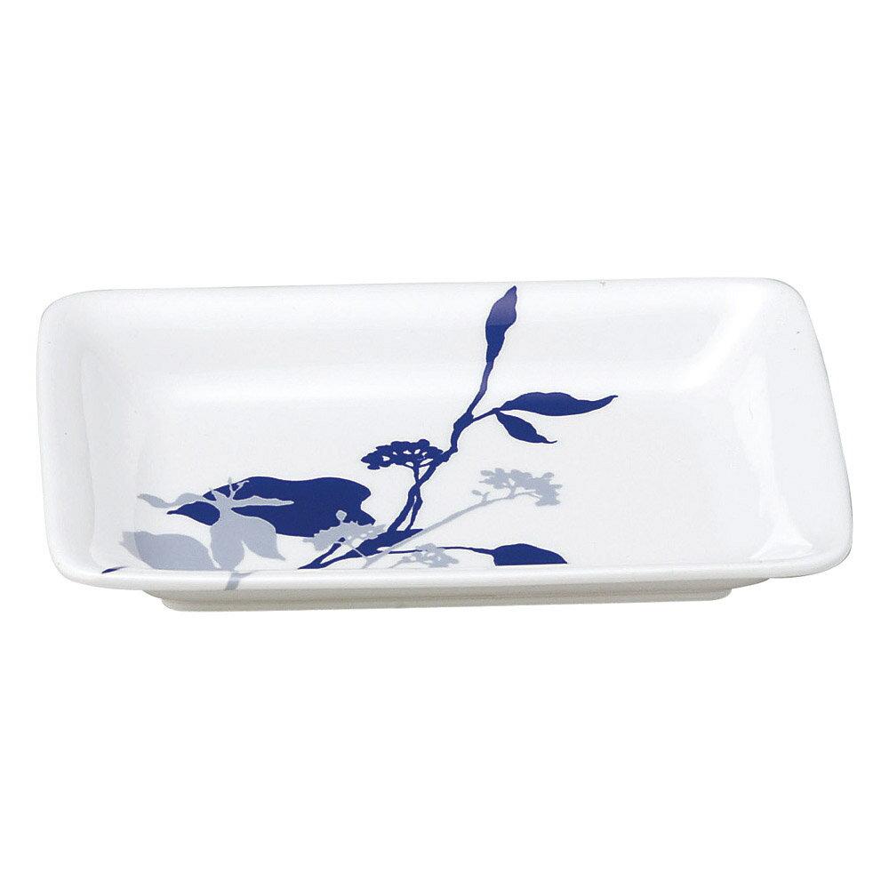 10個セット 和陶オープン ブランチ (紺)焼物皿 [ 18.3 x 12.5 x 2.6cm ] 料亭 旅館 和食器 飲食店 業務用
