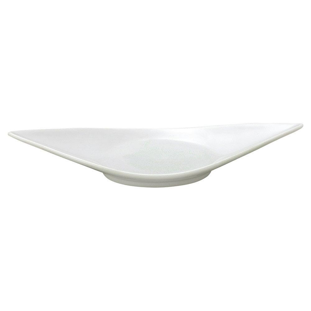 10個セット 和陶オープン 青白磁 舟形尺1皿 [ 34.5 x 12.7 x 5.3cm ] 料亭 旅館 和食器 飲食店 業務用