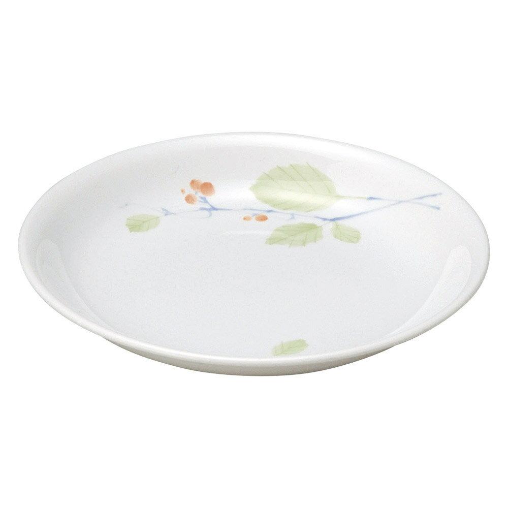 10個セット 和陶オープン 赤い実 17.8cm浅皿 [ 17.8 x 2.6cm ] 料亭 旅館 和食器 飲食店 業務用