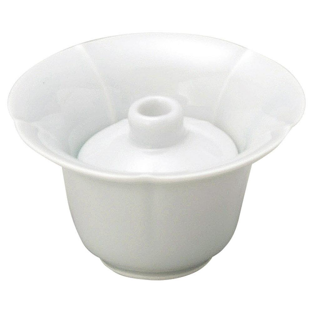 10個セット 和陶オープン 青白磁 朝顔珍味 [ 10.1 x 5.9cm ] 料亭 旅館 和食器 飲食店 業務用