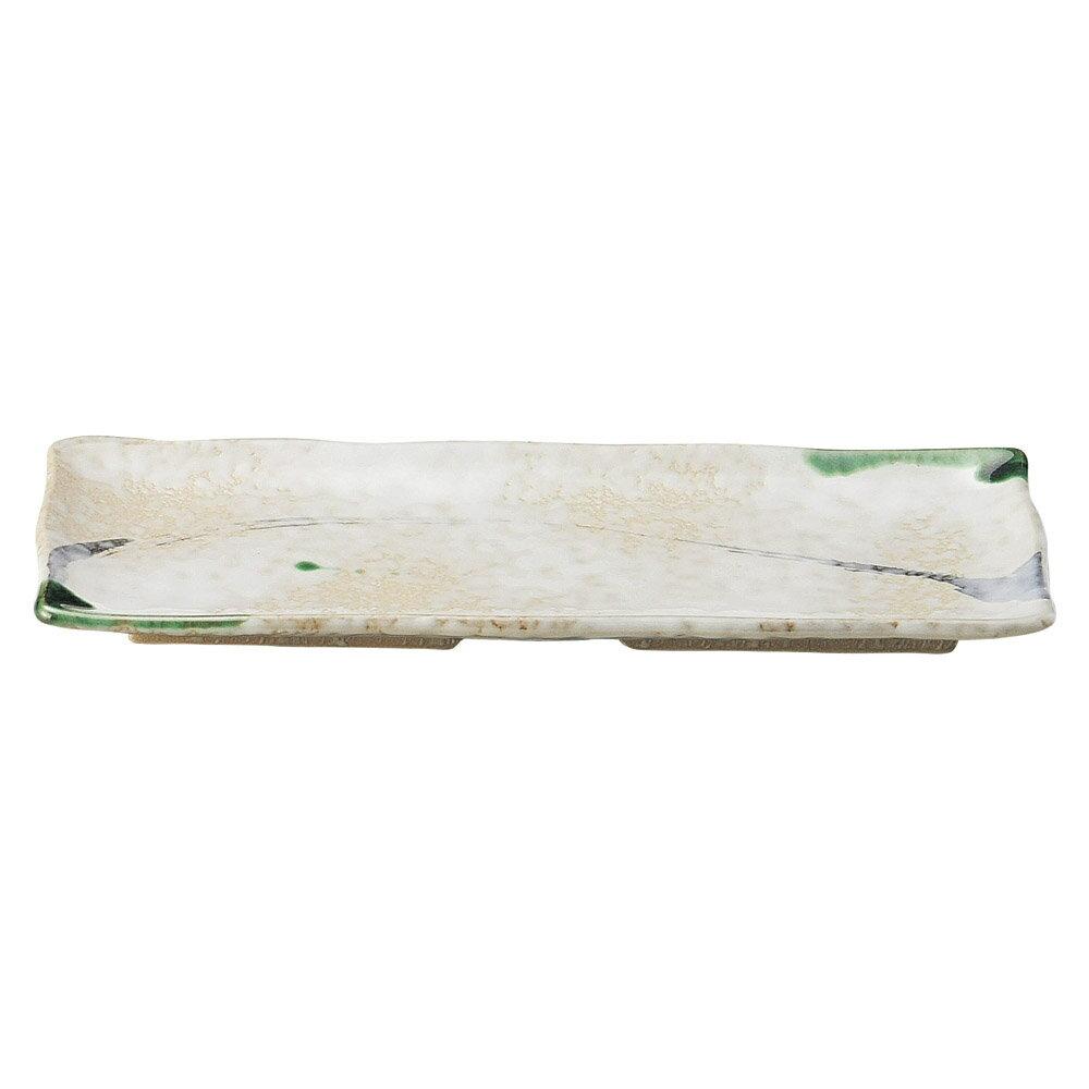 10個セット 和陶オープン 織部流線 さんま皿 [ 28.5 x 11.5 x 2.3cm ] 料亭 旅館 和食器 飲食店 業務用