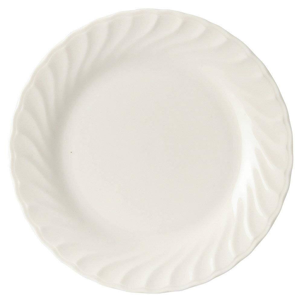 10個セット 洋陶オープン シルキーウェーブ 10吋皿 [ 26 x 2.8cm ] 料亭 旅館 和食器 飲食店 業務用