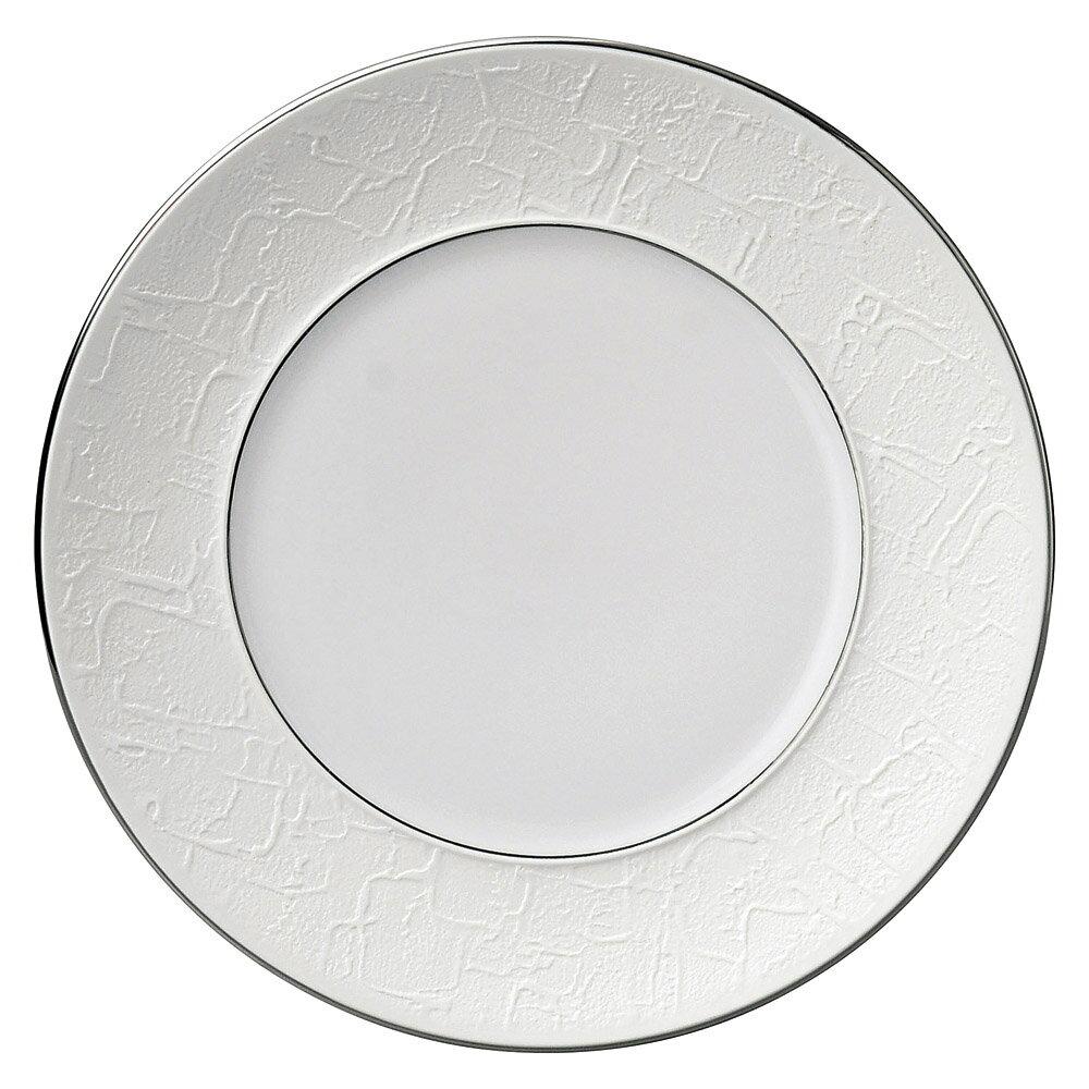 10個セット 洋陶オープン バロック プラチナライン 24cmプレート [ 24 x 2.4cm ] 料亭 旅館 和食器 飲食店 業務用