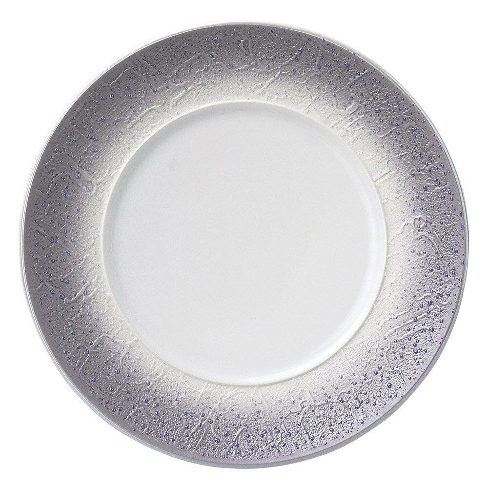 10個セット 洋陶オープン バロック バイオレットラスター 24cmプレート [ 24 x 2.4cm ] 料亭 旅館 和食器 飲食店 業務用