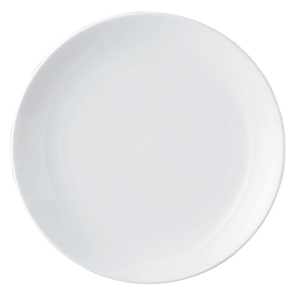 5個セット 洋陶オープン GIGA(白磁強化業務用) メタ12吋丸皿 [ 30.7 x 3.9cm ] 料亭 旅館 和食器 飲食店 業務用