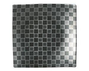 10個セット 洋陶オープン チェス ブラック19.5cm角皿 [ 19.7 x 3cm ] 料亭 旅館 和食器 飲食店 業務用