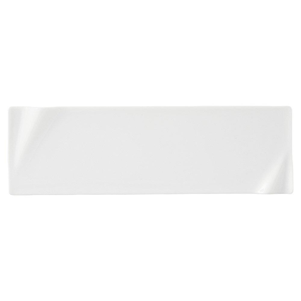 10個セット 洋陶オープン 海皇(かいこう) 白32cm細長プレート [ 32 x 10 x 1.5cm ] 料亭 旅館 和食器 飲食店 業務用