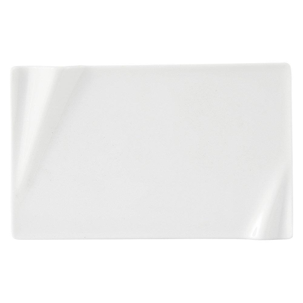 10個セット 洋陶オープン 海皇(かいこう) 白22cm長角プレート [ 22 x 13.6 x 1.8cm ] 料亭 旅館 和食器 飲食店 業務用