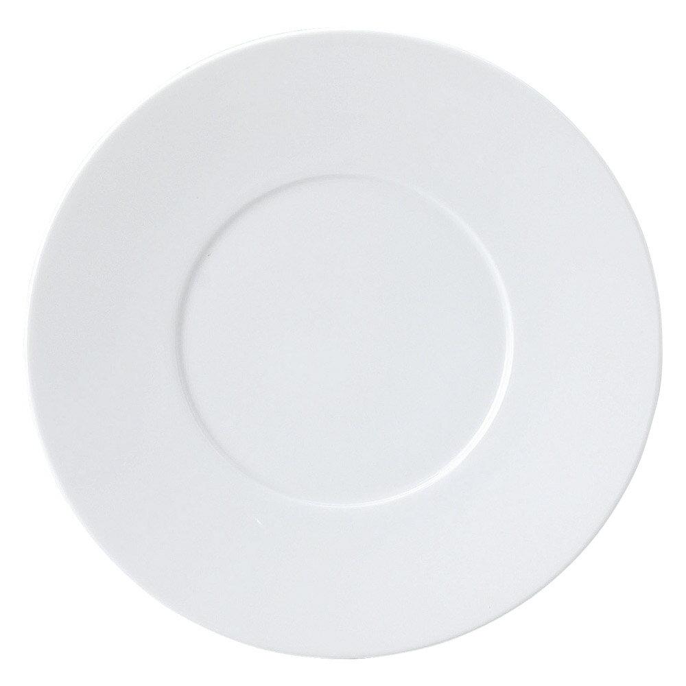 10個セット 洋陶オープン プレノ(特白磁) 27cmディナー [ 27 x 2.5cm ] 料亭 旅館 和食器 飲食店 業務用