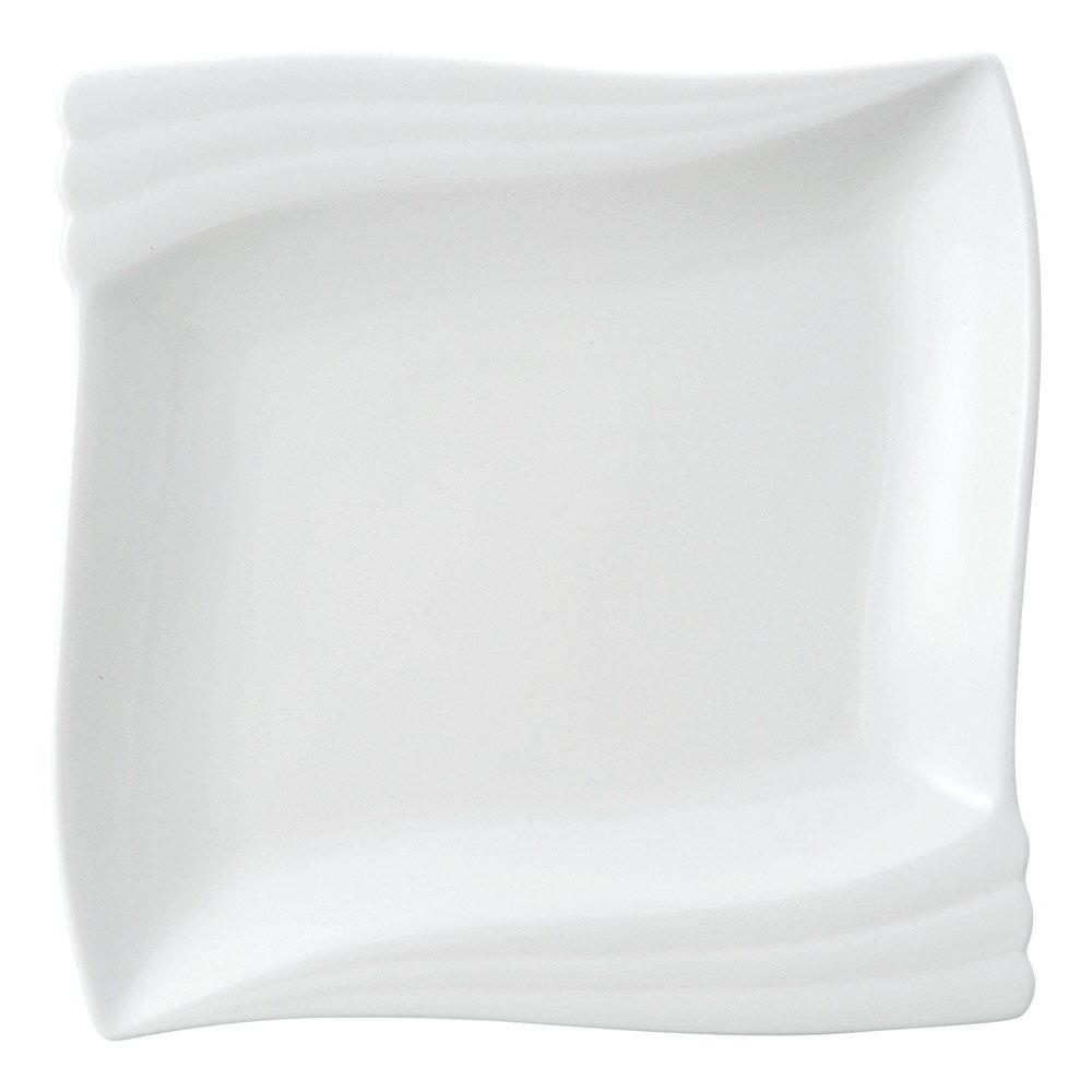 10個セット 洋陶オープン エクセラホワイト エンゼル二方角皿 [ 22 x 21.6 x 2.8cm ] 料亭 旅館 和食器 飲食店 業務用