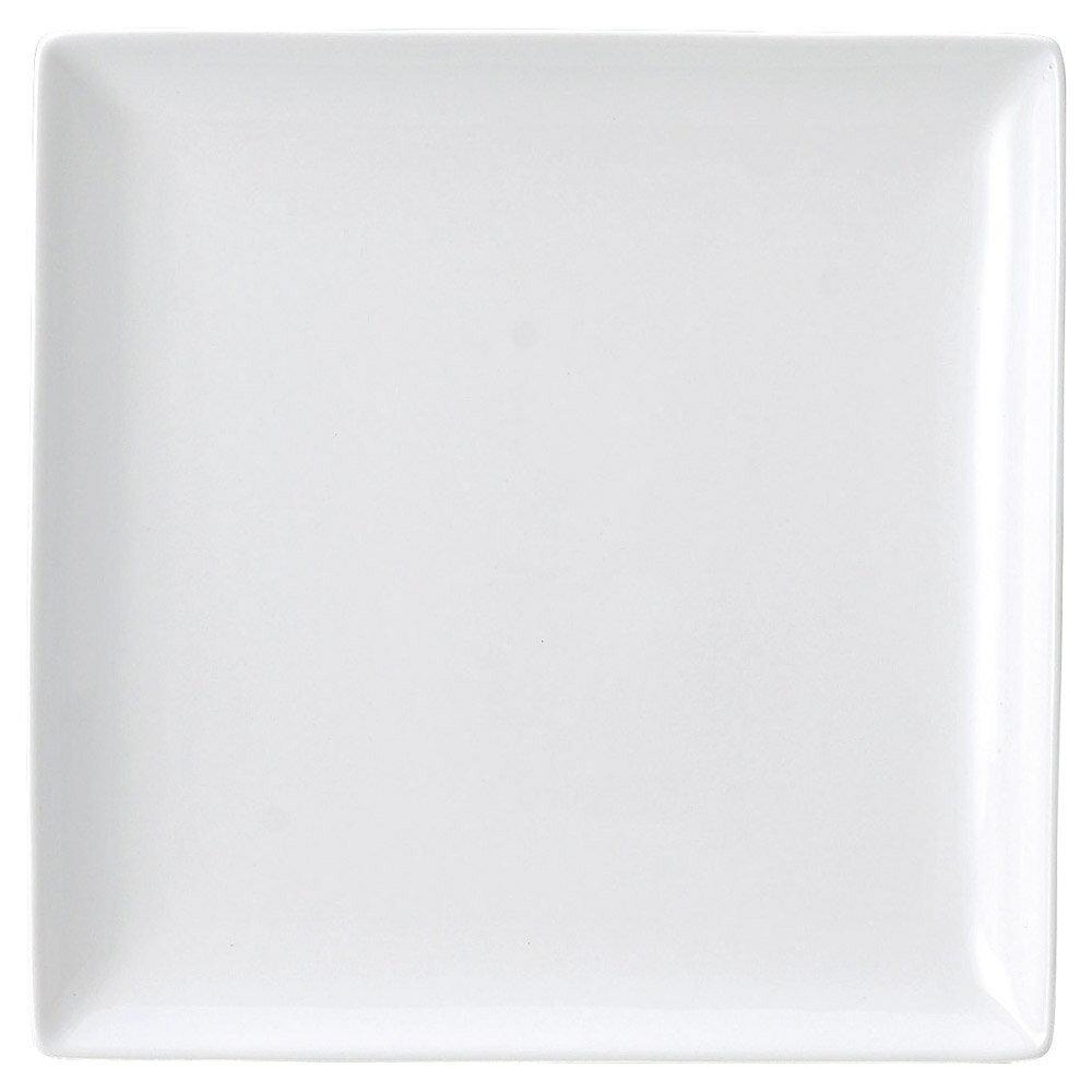 10個セット 洋陶オープン ブランシェ 白 スクエアー27皿 [ 27.4 x 27.4 x 2.8cm ] 料亭 旅館 和食器 飲食店 業務用