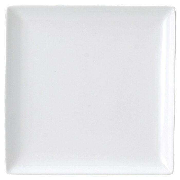 洋陶オープン ブランシェ 白 スクエアー27皿 [ 27.4 x 27.4 x 2.8cm ] 【料亭 旅館 和食器 飲食店 業務用】