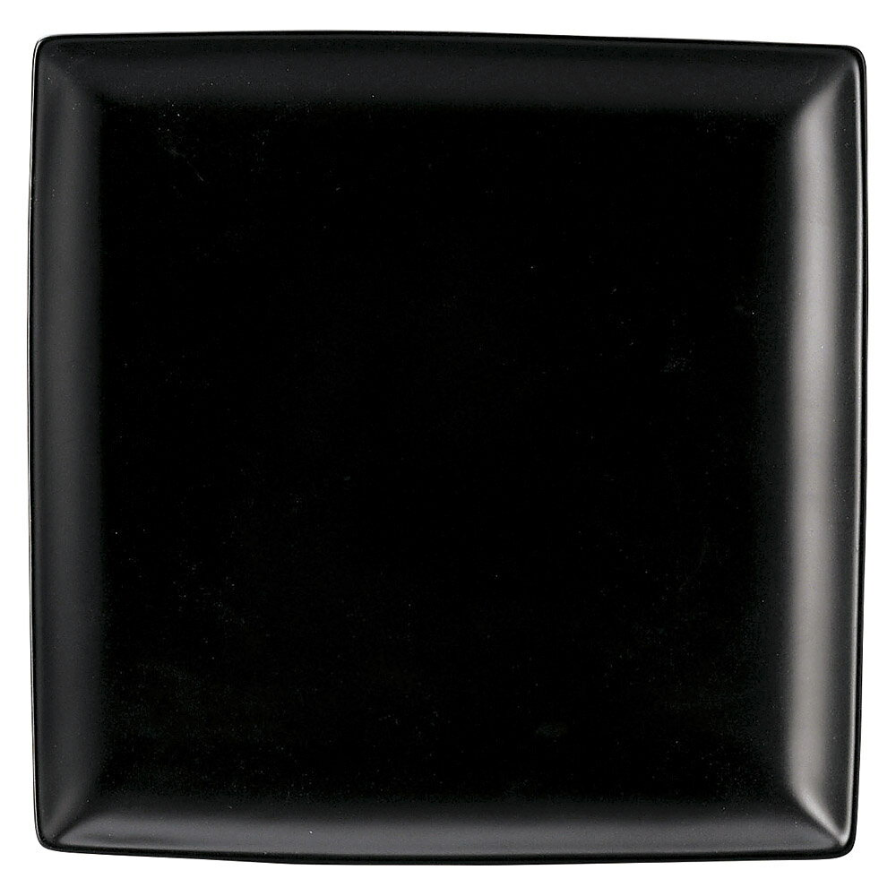 10個セット 洋陶オープン ブランシェ 黒 スクエアー27皿 [ 27.4 x 27.4 x 2.8cm ] 料亭 旅館 和食器 飲食店 業務用