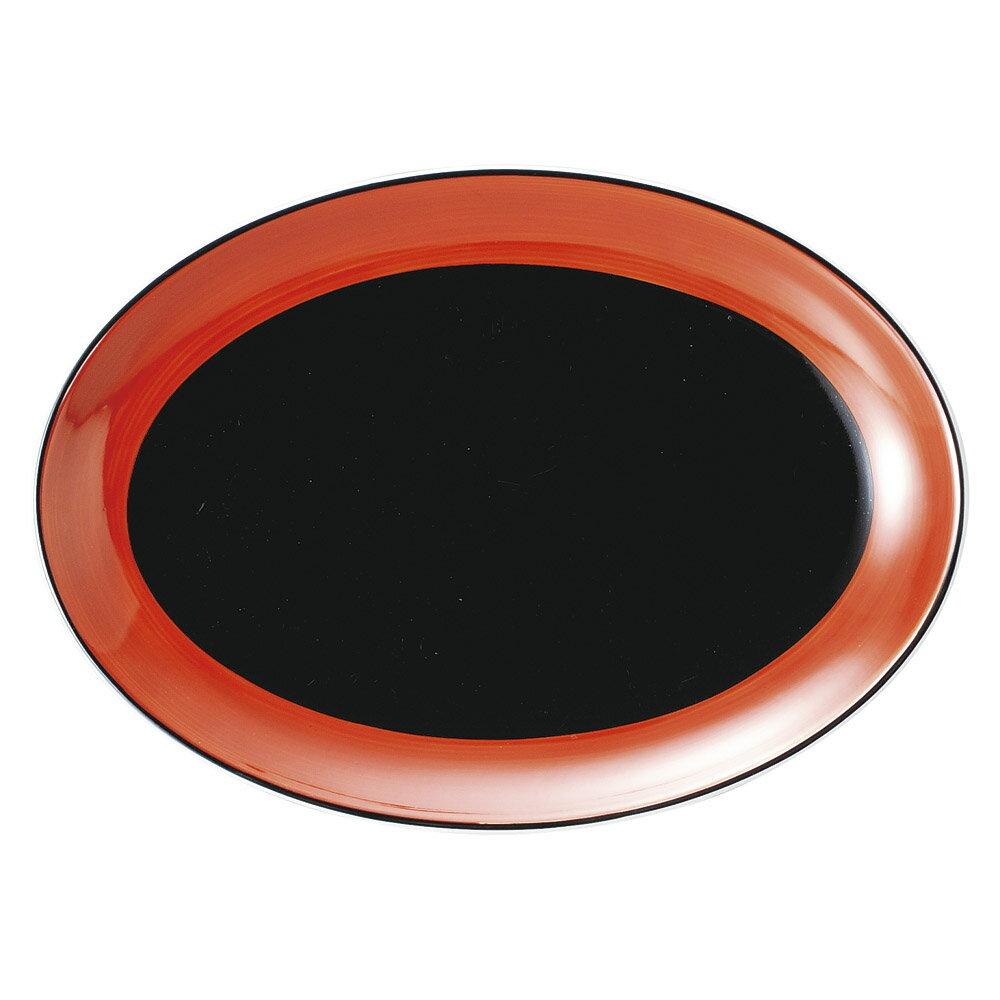 10個セット 中華オープン 敦煌 10吋プラター [ 26 x 18.5cm ] 料亭 旅館 和食器 飲食店 業務用