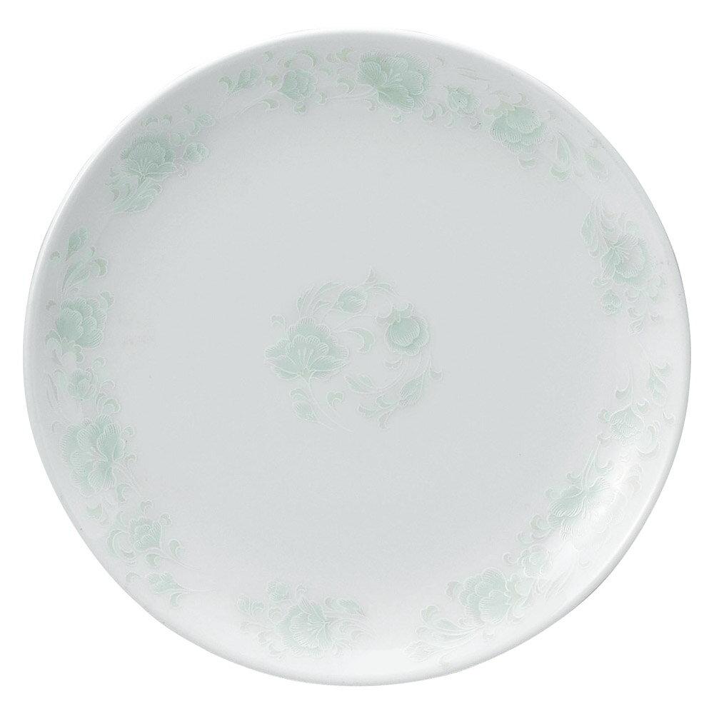 10個セット 中華オープン 夢彩華 9吋丸皿 [ 23.5 x 2.5cm ] 料亭 旅館 和食器 飲食店 業務用