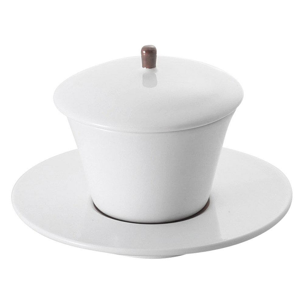 10個セット もだんコントラスト 赤巻蓋付デザートカップソーサー付 [ 12 x 9.3cm ] | デザート 皿 ケーキ アイス お菓子 人気 おすすめ 食器 洋食器 業務用 飲食店 カフェ うつわ 器 おしゃれ かわいい ギフト プレゼント 引き出物 誕生日 贈り物 贈答品