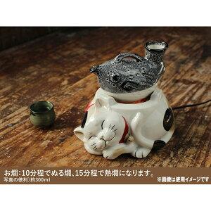 電気コンロネコ(三毛猫)|コンロ猫ネコかわいいお鍋網焼きBBQ可愛いおしゃれインスタCATあったかい一人鍋みけねこ